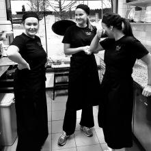 En del av våran fantastiska personal!